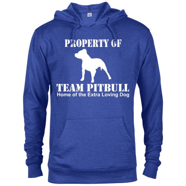Team Pit Bull - 97200 Delta French Terry Hoodie Dark Royal Heather X-Small - Little Pit Shop