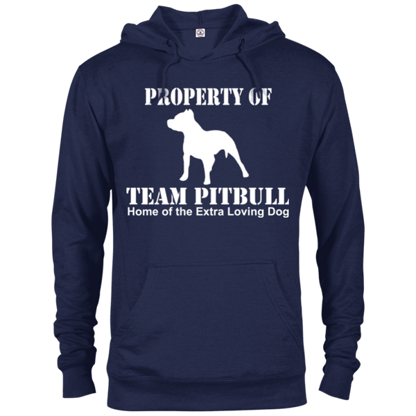 Team Pit Bull - 97200 Delta French Terry Hoodie Dark Navy X-Small - Little Pit Shop