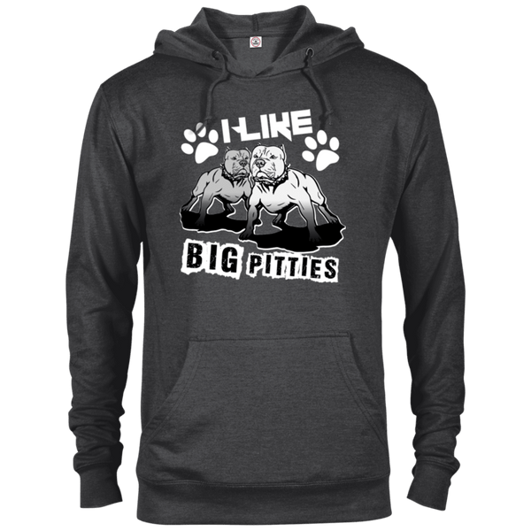 I Like Big Pitties Lt - 97200 Delta French Terry Hoodie Charcoal Heather X-Small - Little Pit Shop