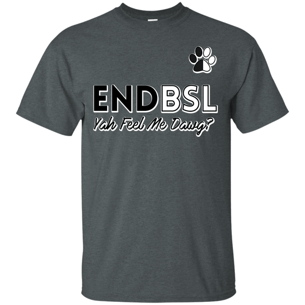 End BSL - G200 Gildan Ultra Cotton T-Shirt Dark Heather Small - Little Pit Shop