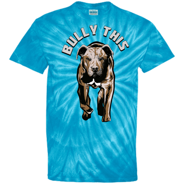 Bully This! - CD100 100% Cotton Tie Dye T-Shirt, T-Shirts | Pit Bull T Shirts, Hoodies and more | Little Pit Shop