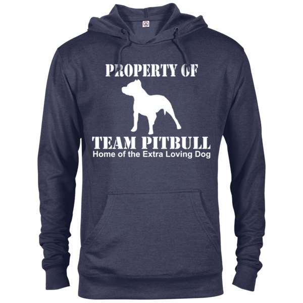 Team Pit Bull - 97200 Delta French Terry Hoodie Dark Denim Heather X-Small - Little Pit Shop