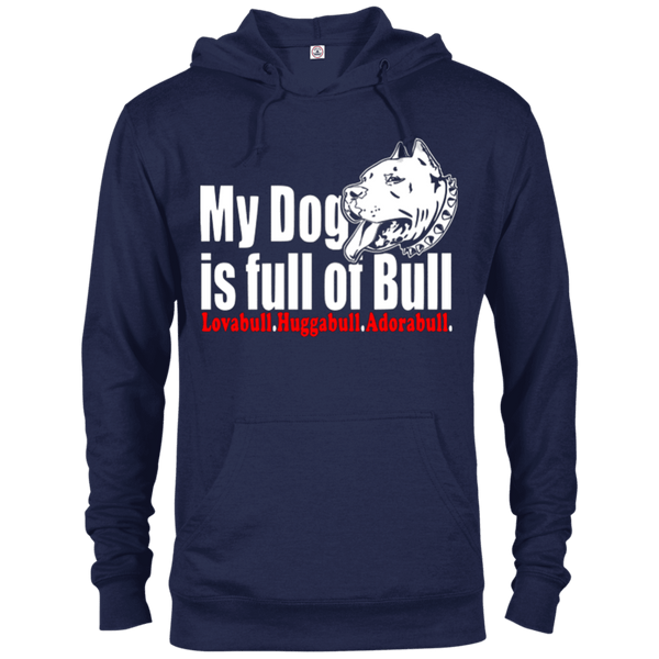 Full Of Bull - 97200 Delta French Terry Hoodie Dark Navy X-Small - Little Pit Shop