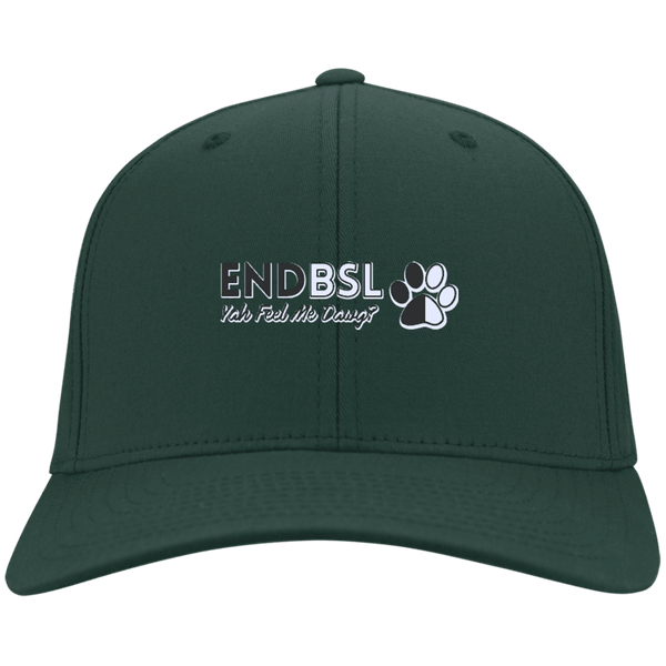 End BSL - CP80 Port & Co. Twill Cap By Little Pit Shop Hunter Green One Size - Little Pit Shop