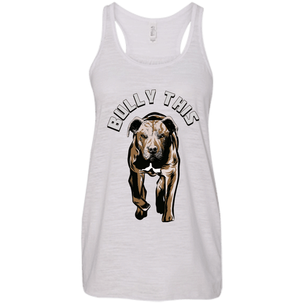 Bully This! - B8800 Bella + Canvas Flowy Racerback Tank Vintage White X-Small - Little Pit Shop
