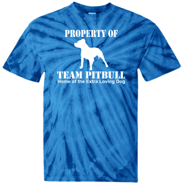 Team Pit Bull - CD100Y Youth Tie Dye T-Shirt Spider Royal YXS - Little Pit Shop
