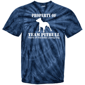 Team Pit Bull - CD100Y Youth Tie Dye T-Shirt Spider Navy YXS - Little Pit Shop
