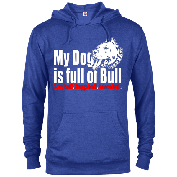 Full Of Bull - 97200 Delta French Terry Hoodie Dark Royal Heather X-Small - Little Pit Shop