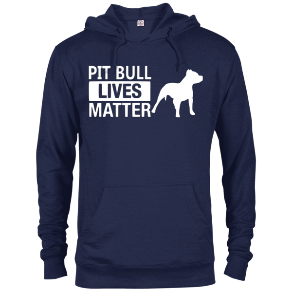 Pit Bull Lives Matter - 97200 Delta French Terry Hoodie Dark Navy X-Small - Little Pit Shop