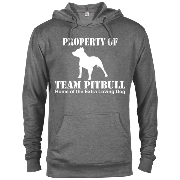 Team Pit Bull - 97200 Delta French Terry Hoodie Dark Graphite Heather X-Small - Little Pit Shop