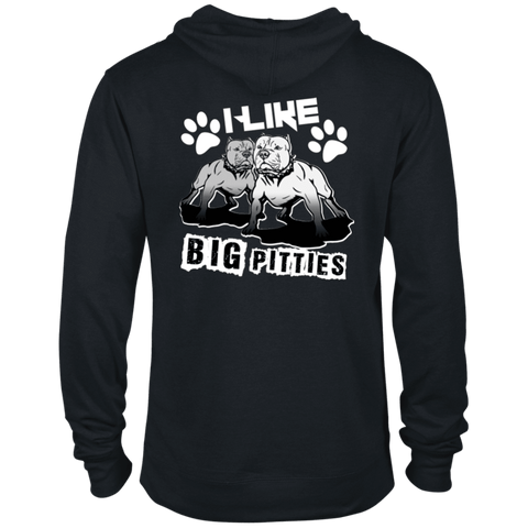 I Like Big Pitties Back Print Lt - 97200 Delta French Terry Hoodie, Sweatshirts | Pit Bull T Shirts, Hoodies and more | Little Pit Shop