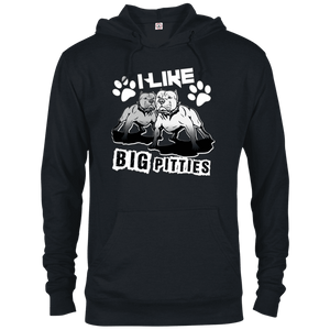 I Like Big Pitties Lt - 97200 Delta French Terry Hoodie, Sweatshirts | Pit Bull T Shirts, Hoodies and more | Little Pit Shop