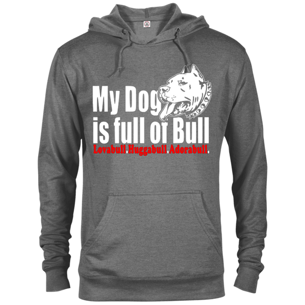 Full Of Bull - 97200 Delta French Terry Hoodie Dark Graphite Heather X-Small - Little Pit Shop