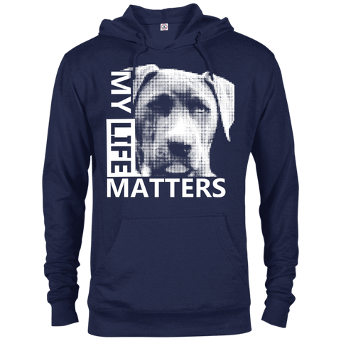 My Life Matters - 97200 Delta French Terry Hoodie Dark Navy X-Small - Little Pit Shop