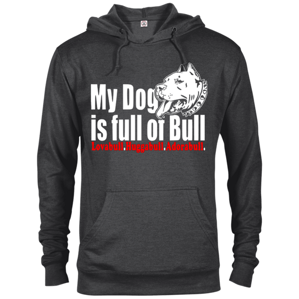 Full Of Bull - 97200 Delta French Terry Hoodie Dark Charcoal Heather X-Small - Little Pit Shop