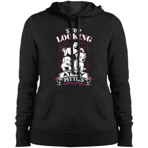 Stop Looking - LST254 Sport-Tek Ladies' Pullover Hooded Sweatshirt, Sweatshirts | Pit Bull T Shirts, Hoodies and more | Little Pit Shop