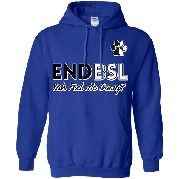 End BSL - G185 Gildan Pullover Hoodie 8 oz. Royal Small - Little Pit Shop
