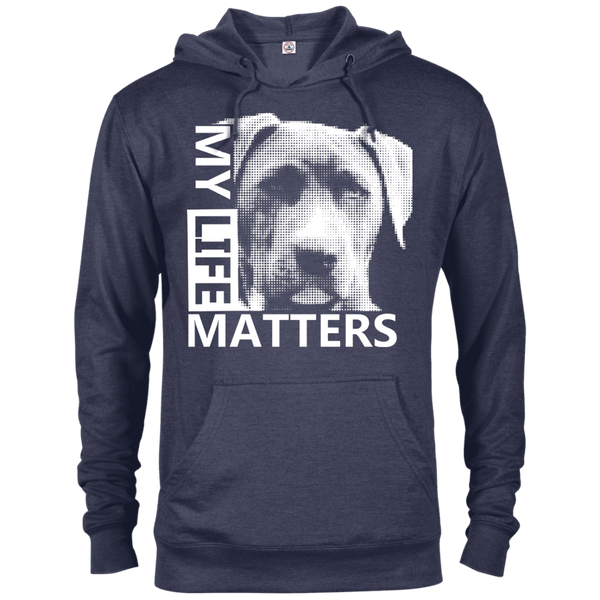 My Life Matters - 97200 Delta French Terry Hoodie Dark Denim Heather X-Small - Little Pit Shop