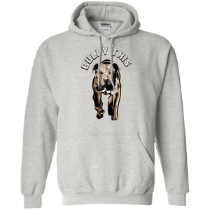 Bully This - G185 Gildan Pullover Hoodie 8 oz. Ash Small - Little Pit Shop