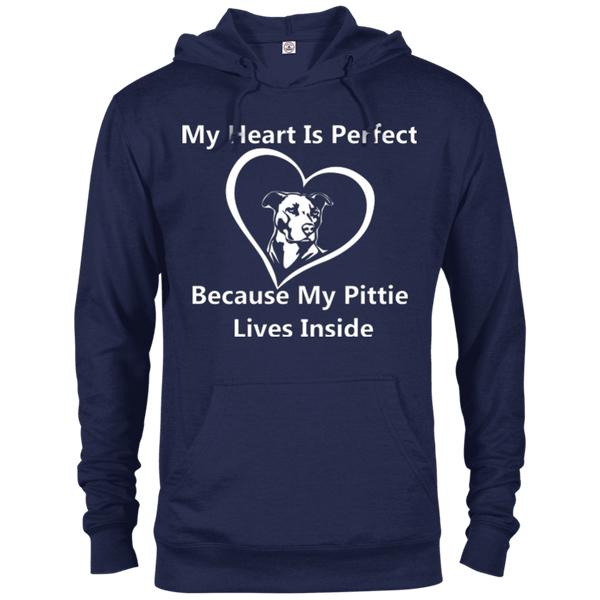 My Heart - 97200 Delta French Terry Hoodie Dark Navy X-Small - Little Pit Shop