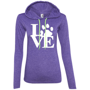Love - 887L Anvil Ladies' LS T-Shirt Hoodie, Hoodie | Pit Bull T Shirts, Hoodies and more | Little Pit Shop