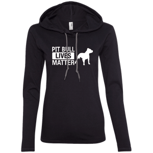 Pit Bull Lives Matter -887L Anvil Ladies' LS T-Shirt Hoodie, Hoodie | Pit Bull T Shirts, Hoodies and more | Little Pit Shop