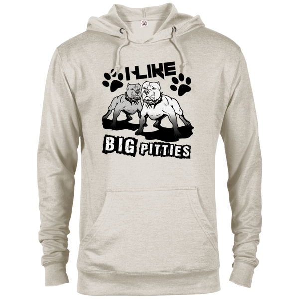 I Like Big Pitties Drk - 97200 Delta French Terry Hoodie Oatmeal Heather X-Small - Little Pit Shop