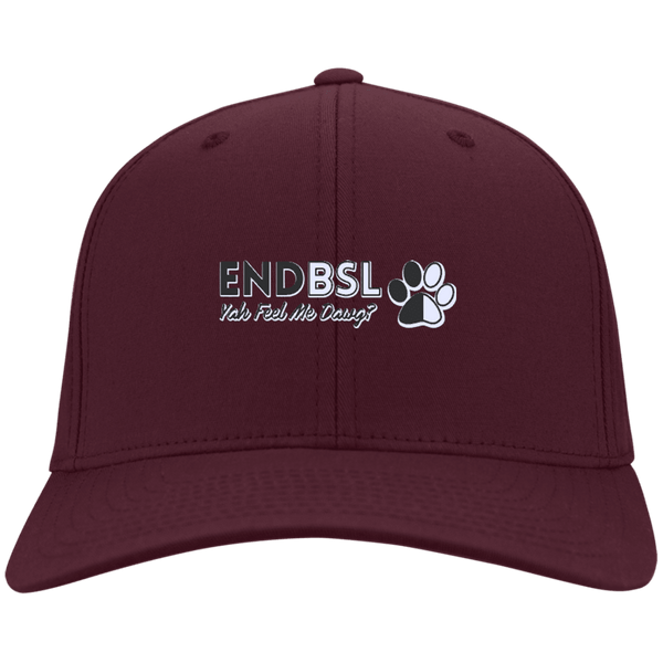 End BSL - CP80 Port & Co. Twill Cap By Little Pit Shop Maroon One Size - Little Pit Shop