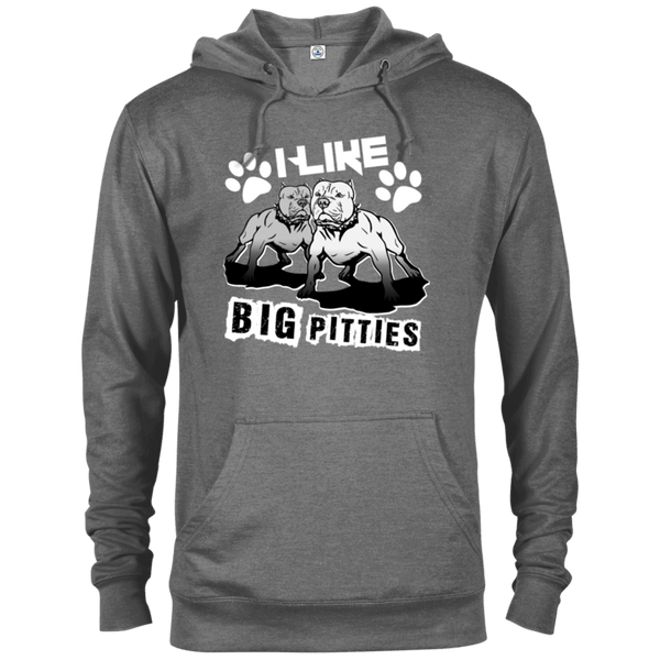 I Like Big Pitties Lt - 97200 Delta French Terry Hoodie Graphite Heather X-Small - Little Pit Shop