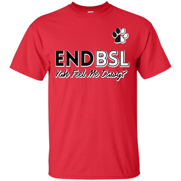 End BSL - G200 Gildan Ultra Cotton T-Shirt Red Small - Little Pit Shop