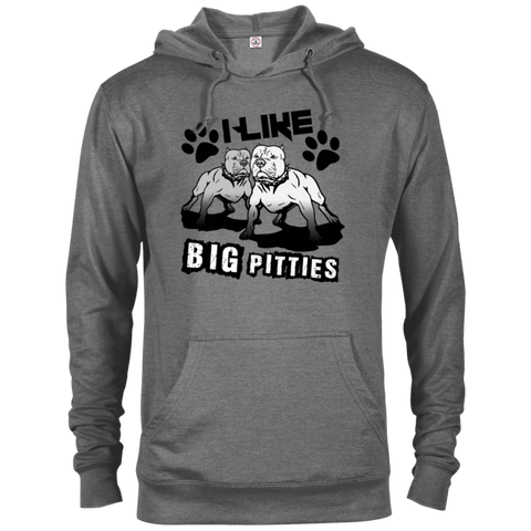 I Like Big Pitties Drk - 97200 Delta French Terry Hoodie, Sweatshirts | Pit Bull T Shirts, Hoodies and more | Little Pit Shop