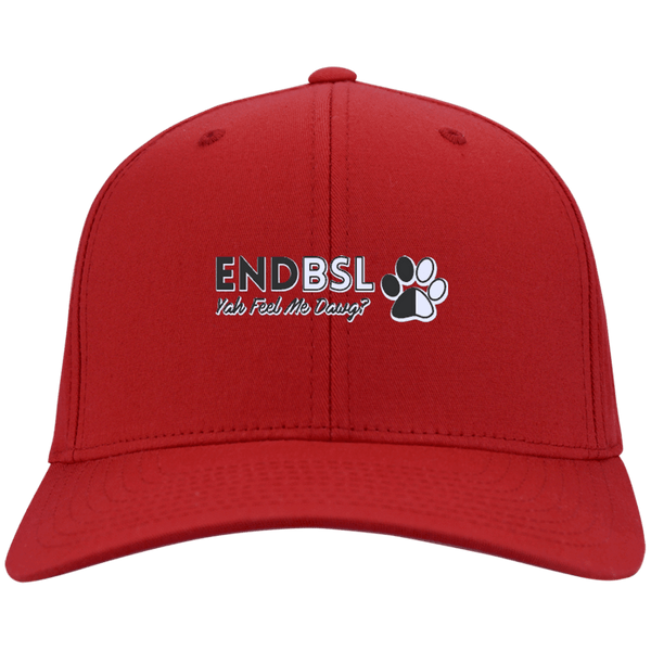 End BSL - CP80 Port & Co. Twill Cap By Little Pit Shop Red One Size - Little Pit Shop