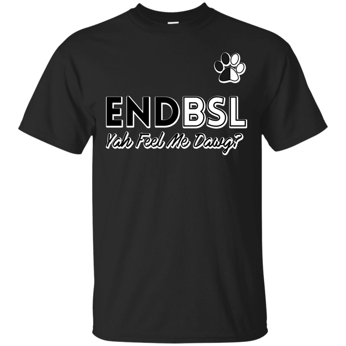 End BSL - G200 Gildan Ultra Cotton T-Shirt Black Small - Little Pit Shop