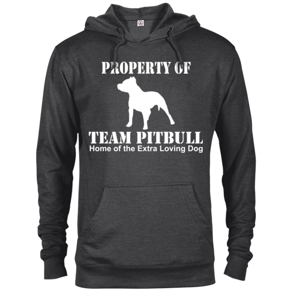 Team Pit Bull - 97200 Delta French Terry Hoodie Dark Charcoal Heather X-Small - Little Pit Shop