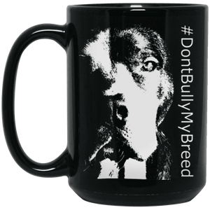 #EndBSL - BM15OZ 15 oz. Black Mug Black One Size - Little Pit Shop