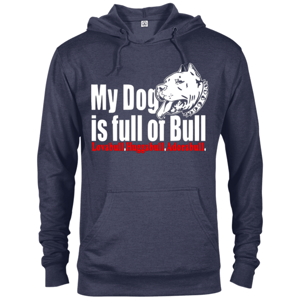 Full Of Bull - 97200 Delta French Terry Hoodie Dark Denim Heather X-Small - Little Pit Shop