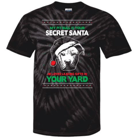Secret Santa - CD100 100% Cotton Tie Dye T-Shirt Spider Black Small - Little Pit Shop