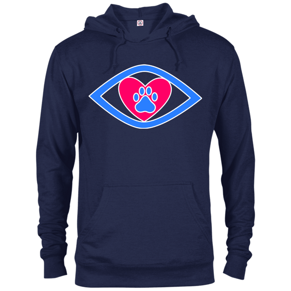Eye-Heart-Paw - 97200 Delta French Terry Hoodie Dark Navy X-Small - Little Pit Shop