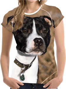 3D Dog Tees American Pit Bull, Shirts | Pit Bull T Shirts, Hoodies and more | Little Pit Shop