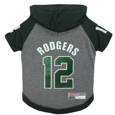 Aaron Rodgers Dog Hoodie T-Shirt   - Little Pit Shop