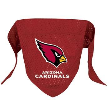 Official Licensed NFL Mesh Dog Bandanas 14 Teams to choose from Arizona Cardinals  - Little Pit Shop
