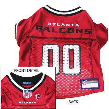 Atlanta Falcons Officially Licensed Dog Jersey - Red XS  - Little Pit Shop