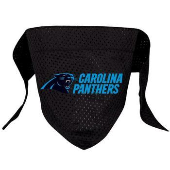 Official Licensed NFL Mesh Dog Bandanas 14 Teams to choose from Carolina Panthers  - Little Pit Shop