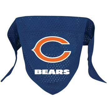 Official Licensed NFL Mesh Dog Bandanas 14 Teams to choose from Chicago Bears  - Little Pit Shop