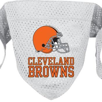 Official Licensed NFL Mesh Dog Bandanas 14 Teams to choose from Cleveland Browns  - Little Pit Shop