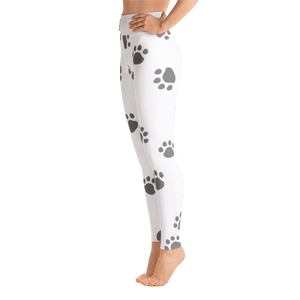 End BSL Paw Print Yoga Leggings by Little Pit Shop   - Little Pit Shop