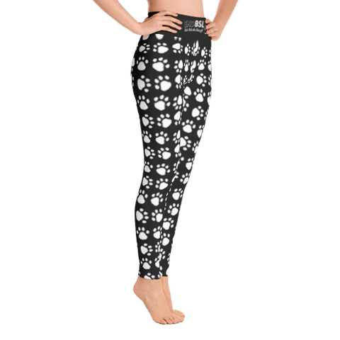 End BSL Black Yoga Leggings by Little Pit Shop   - Little Pit Shop