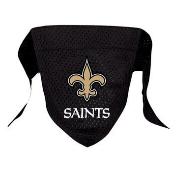 Official Licensed NFL Mesh Dog Bandanas 14 Teams to choose from New Orleans Saints  - Little Pit Shop