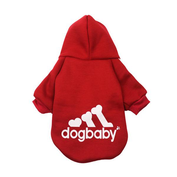 Puppy Hoodie for Small to Med Dog, Dog Clothes | Pit Bull T Shirts, Hoodies and more | Little Pit Shop