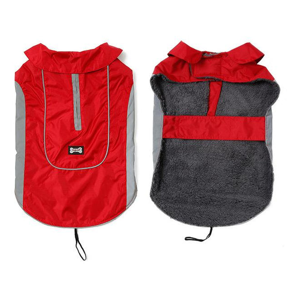New Dog Jacket for Large Dogs Red XS - Little Pit Shop